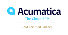 Acumatica Gold Certified Partner Logo
